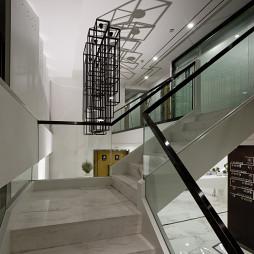 现代混搭办公室楼梯设计