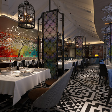 电谷酒店(5星级)-首层西餐咖啡厅