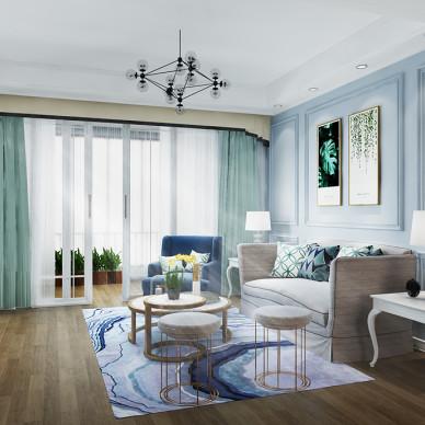 广州美式家居空间设计_3306265