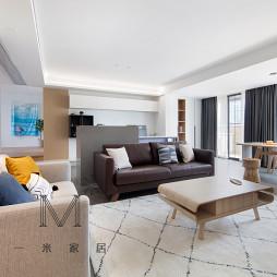 简约风格三居客厅设计