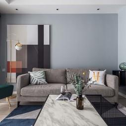 简约北欧风二居客厅设计