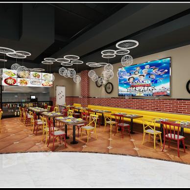 万达高铁长途汽车站餐厅设计2018年6月_3308514