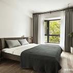 现代轻奢风三居卧室设计