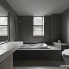 现代轻奢风三居卫生间设计
