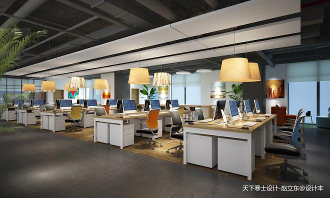 IT公司办公室:一个要求开放设计与功
