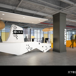 IT公司办公室:一个要求开放设计与功能性的空间。_3309691
