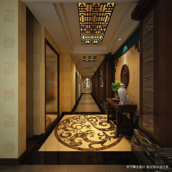 早期作品-中式酒店设计_330971