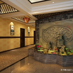 早期作品-中式酒店设计_3309717