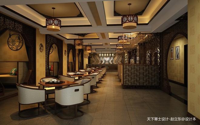 早期作品-中式酒店设计_330972