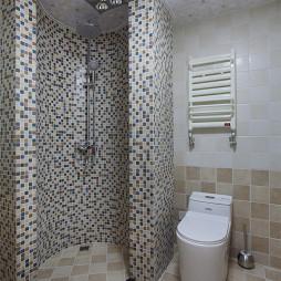 大气混搭别墅浴室设计