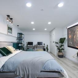 明亮混搭风卧室设计