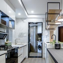 简欧三居厨房设计欣赏