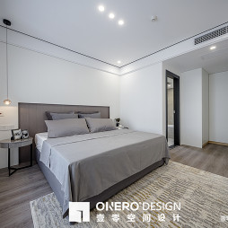 简欧三居卧室设计欣赏