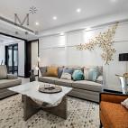 简约美式三居客厅设计