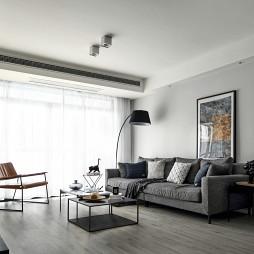 优雅现代三居客厅设计