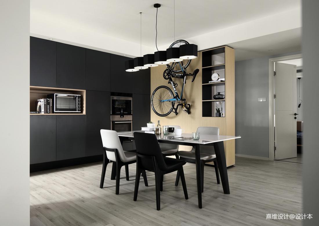 优雅现代三居餐厅设计