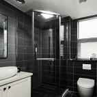 优雅现代三居卫生间设计