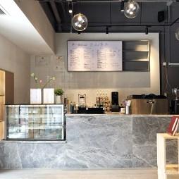 新颖咖啡厅前台设计