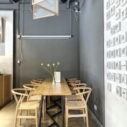 新颖咖啡厅卡座设计