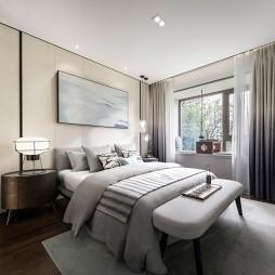 混搭样板房卧室设计