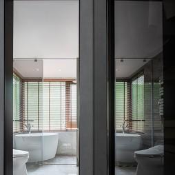 混搭樣板房衛生間設計