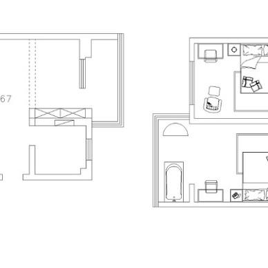 隐藏在南京老城区?#21335;?#20195;美式,85m2老房改造给你想要的浪漫。_3312531