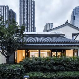 时风间概念中餐厅外观设计