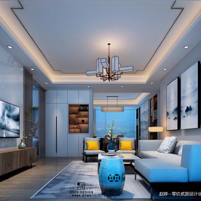 山海韵新中式家居空间