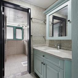 实用美式四居洗手间设计