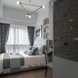 北欧样板房卧室设计欣赏