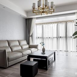 现代简约风格二居客厅设计