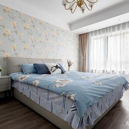 现代简约风格二居卧室设计