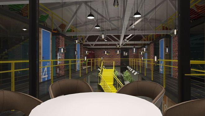 丰台科技园-工业风办公空间