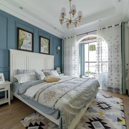 优雅美式三居卧室设计