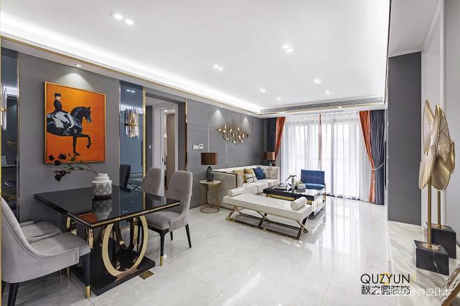 时尚现代风三居客厅设计