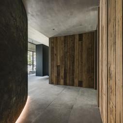 新颖现代豪宅走廊设计