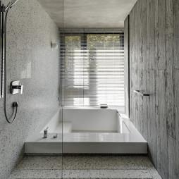 新颖现代豪宅浴室设计