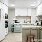 美式三居厨房设计效果