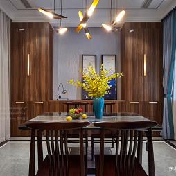 大气中式别墅餐厅设计