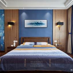 大气中式别墅卧室设计