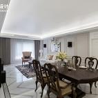 法式三居客餐厅设计