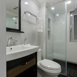 法式三居卫生间设计