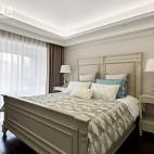 法式三居卧室设计