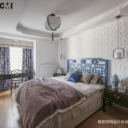 徽派中式四居卧室设计
