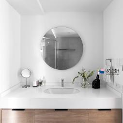 现代二居洗手间设计