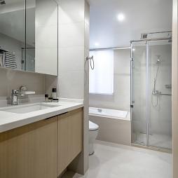简洁现代二居洗手间设计