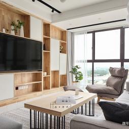日式三居电视背景墙设计
