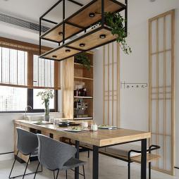 日式三居餐厅设计