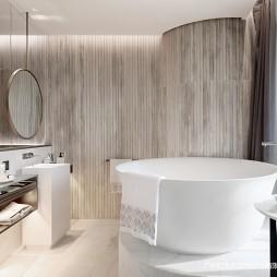 简约样板间浴室设计