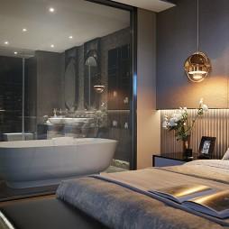 样板间客房浴室设计效果
